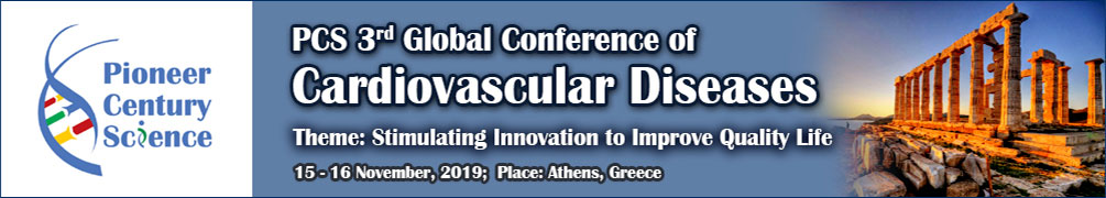 2019 PCS 3rd Global Conference of Cardiovascular Diseases